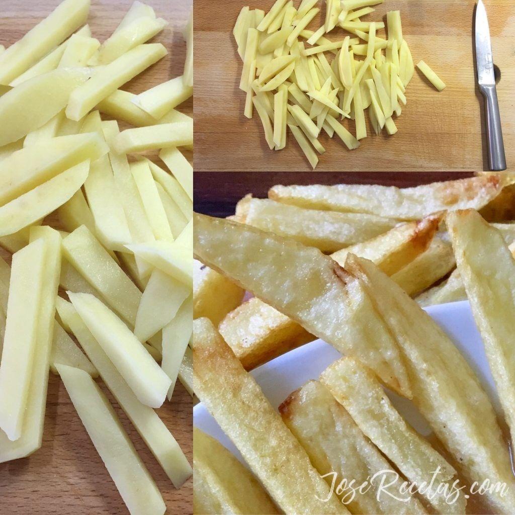 patatas fritas a la juliana
