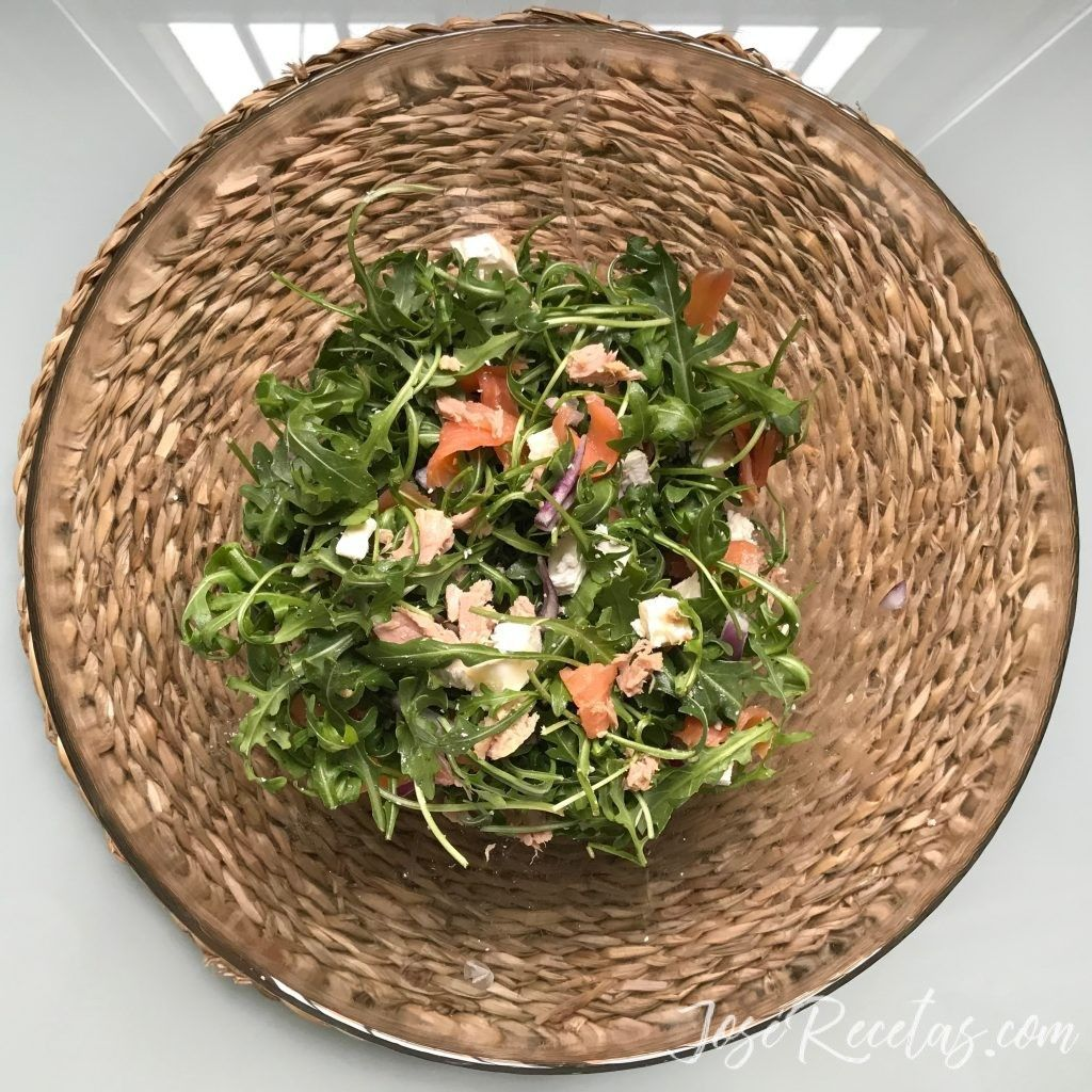ensalada nórdica